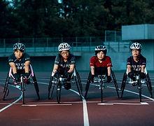 Wheelchair Racers