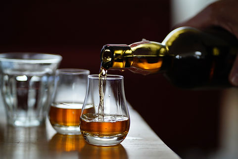 Serving Whiskey