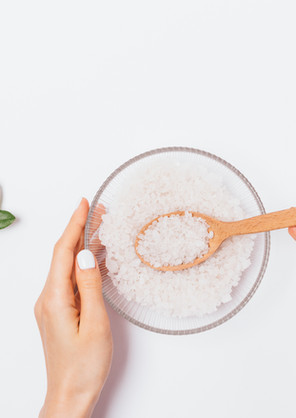 A importancia do sal grosso