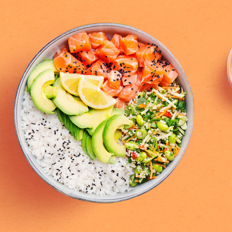 Healthy Bowl Meals: Poke, Buddha, and Smoothie Bowls