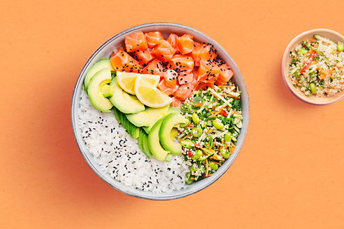 Poke Bowl with Salmon