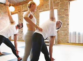 prática de yoga