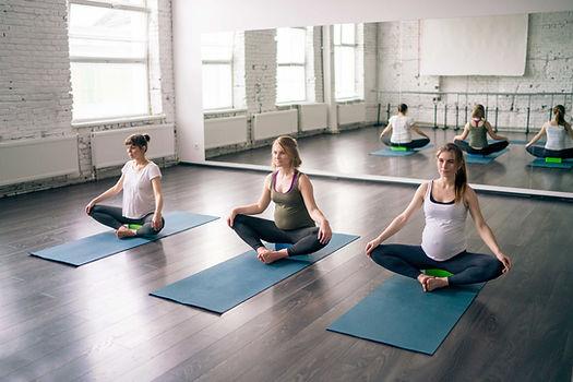 Prenatal Yoga Lesson