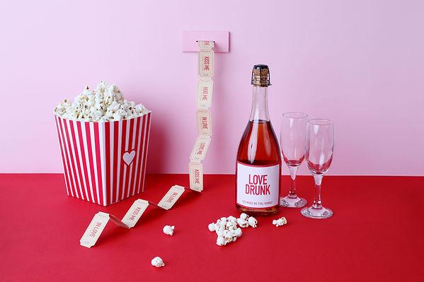 Amor borracho champange