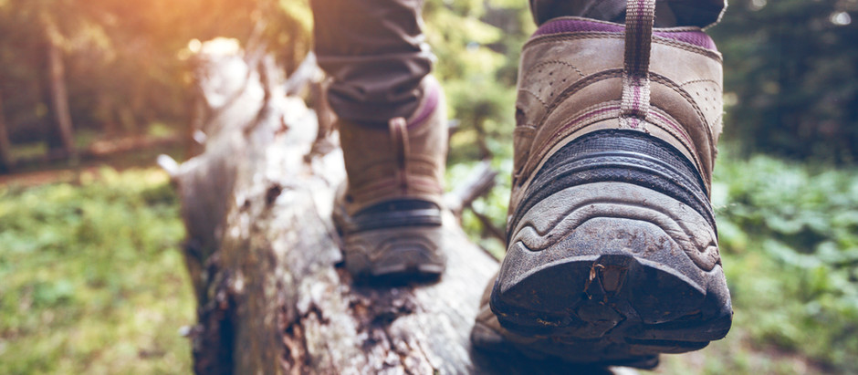 These boots were made for walking: 7 wonders of walking.