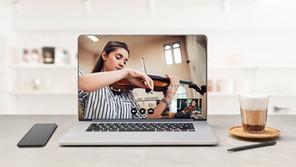 Musikunterricht mit der Webcam ?  Teil 2: Wie läuft der Unterricht?