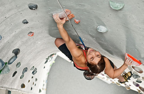 Climbing Wall Seen from above