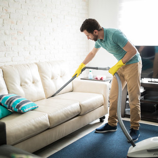 Vacuuming the Couch