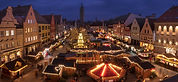 Christmas Market at Night
