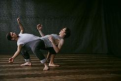 Bailarines modernos
