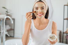 Modder gezichtsmasker