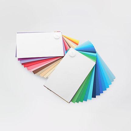 Цветовая палитра бумаги