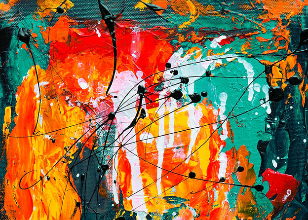 Colorful Abstract Painting