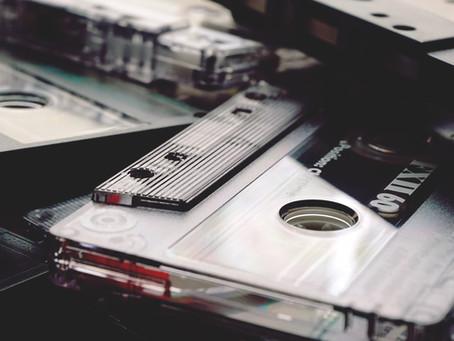 弾き語りカセットテープのノイズ除去&デジタルリマスター