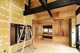 忍野村のハウスビルダーアマノの住宅リフォーム
