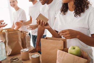 Préparation de sacs d'aliments