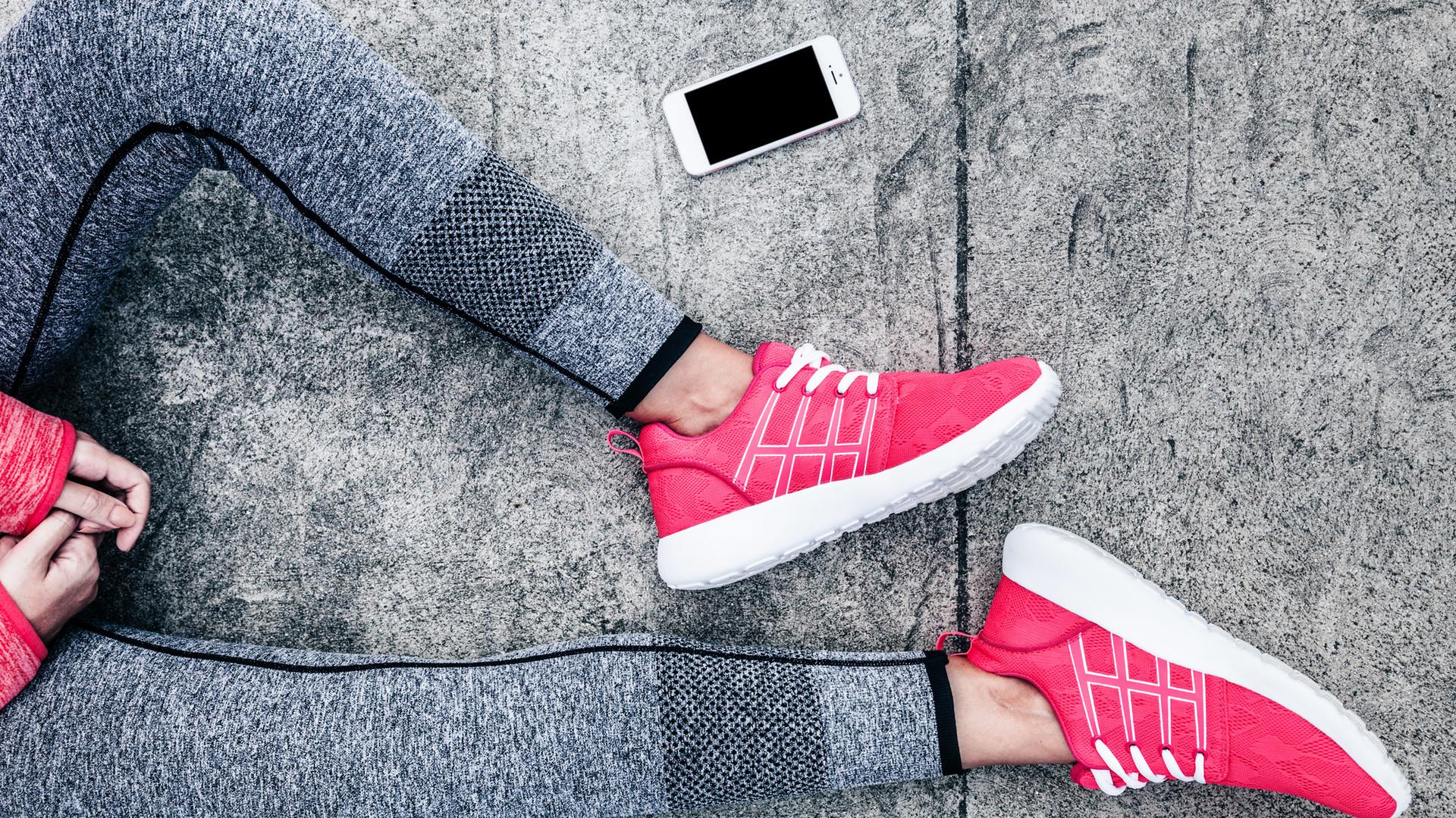 Rosa Schuhe