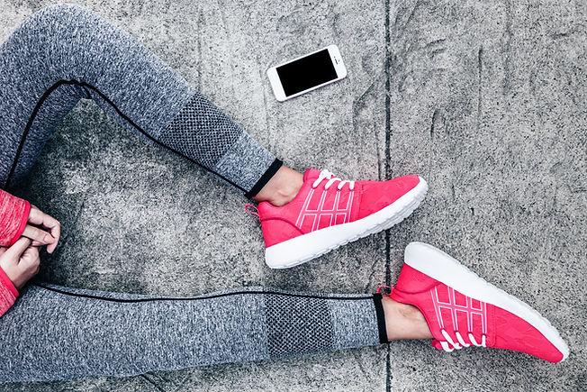 Sapatos rosas