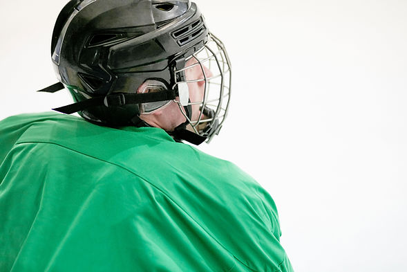 Player with Helmet