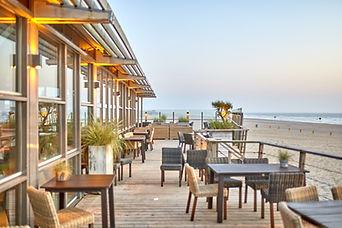 Restaurant aan het strand
