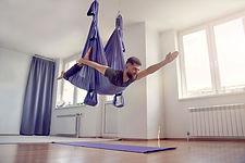Flying Aerial Yoga