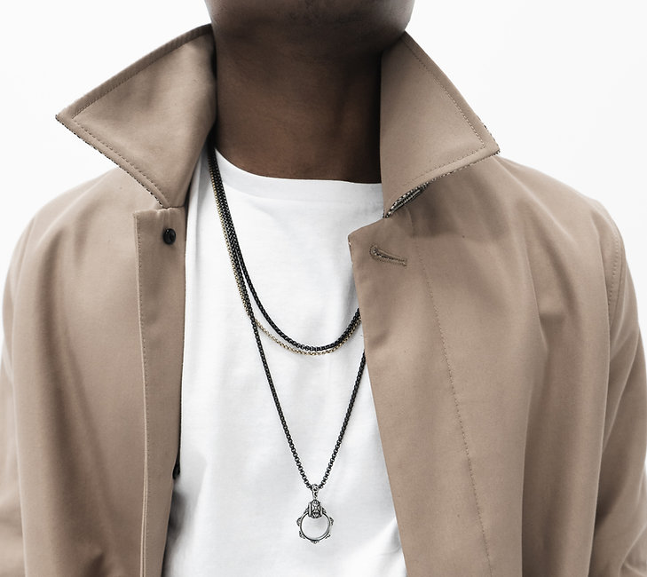 Man With Necklaces