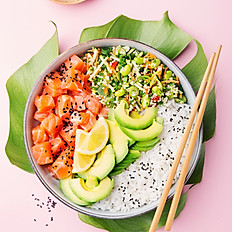 Poke Bowl with Two Toppings