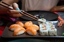 Sushi im Fotostübli