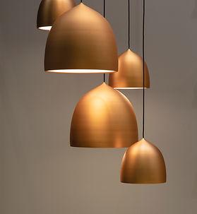 真鍮のランプ