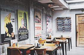 レストランウォールのポスター
