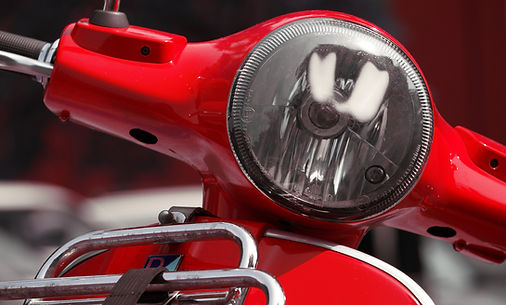 Motorroller Scheinwerfer