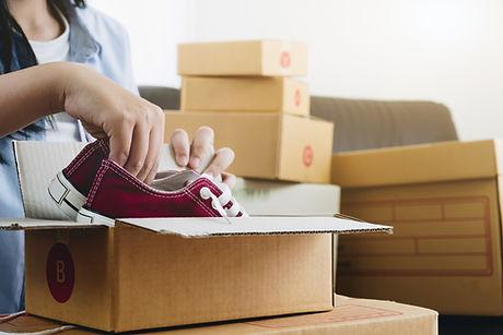 Распаковка обуви