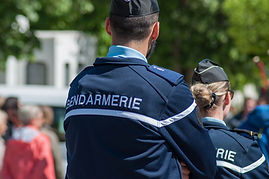 Gendarmes en service