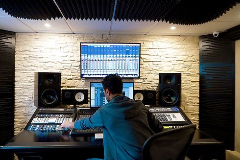 レコーディングスタジオ