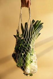 Legumes em saco