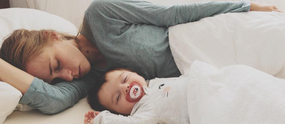 """Sleep Like A Baby."" Ha, yeah right!"