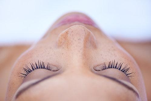 Diseño de cejas con henna y pestañas pelo a pelo x 5