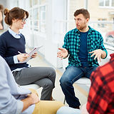 Group Discussion. Student support. Online