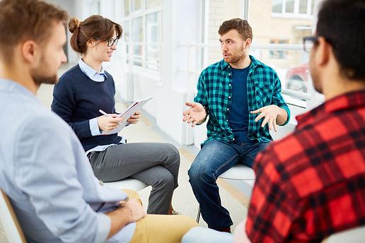 Table de conversation pour entreprise