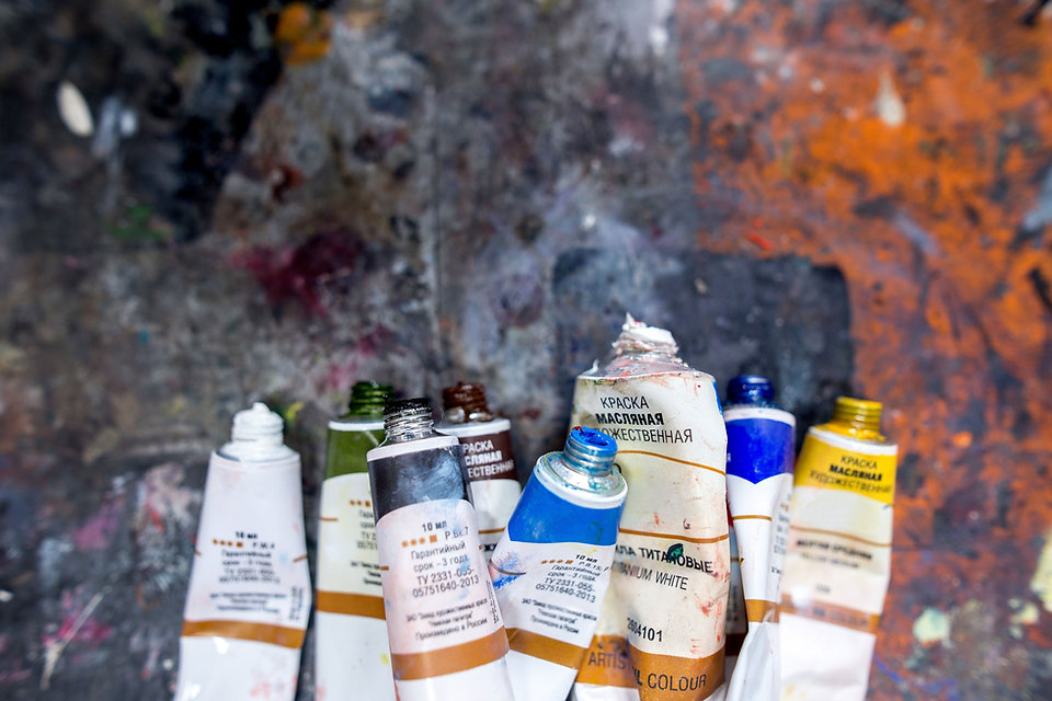 Paint Tubes