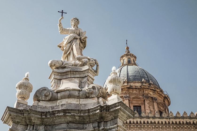 Saint Rosalia Sculpture