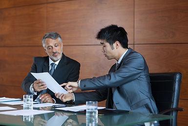 Meeting Between Colleagues