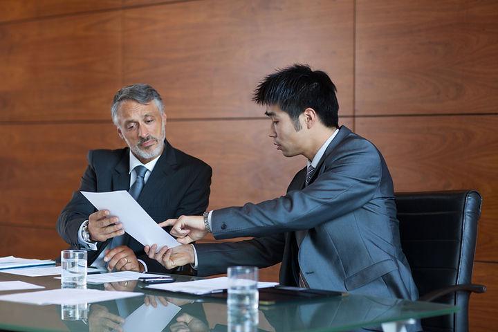Rencontre entre collègues