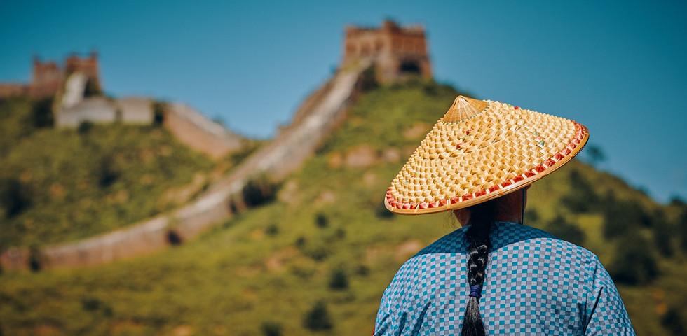 An der Chinesischen Mauer