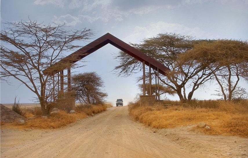 国立公園の入り口