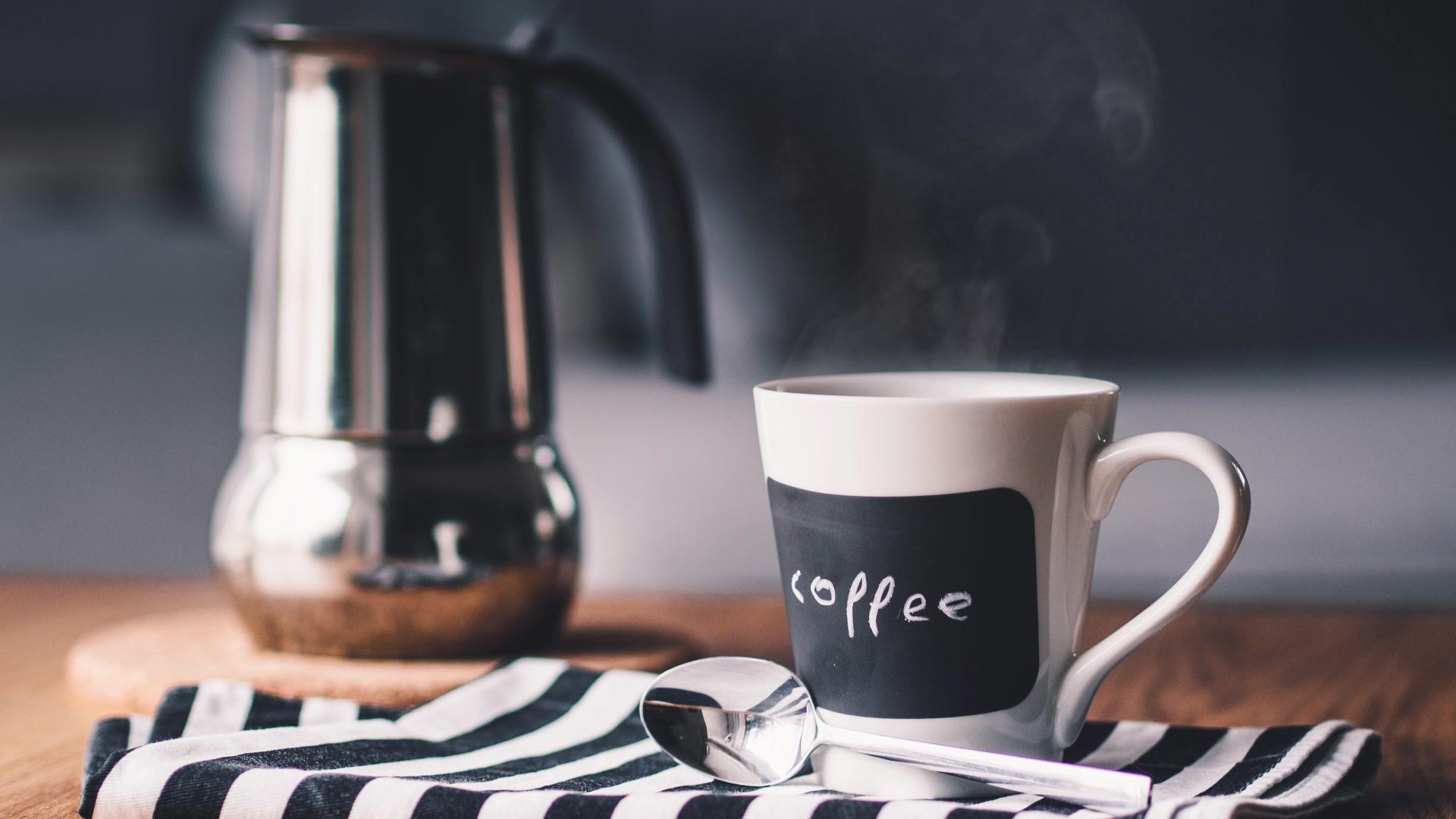 신선한 커피