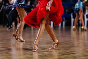 Dancing in Red