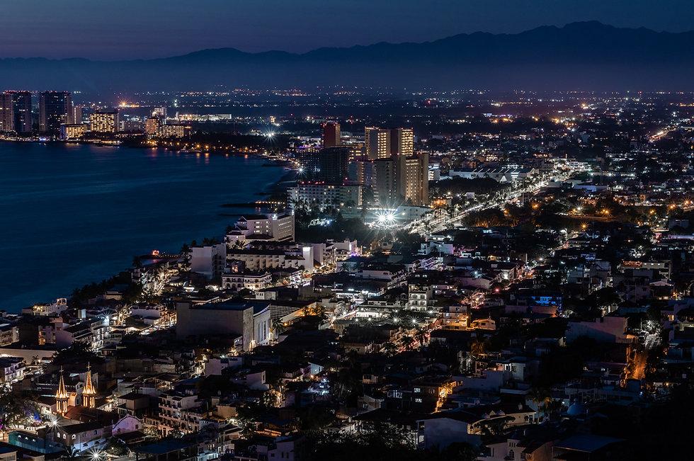 Puerto Vallarta at Night