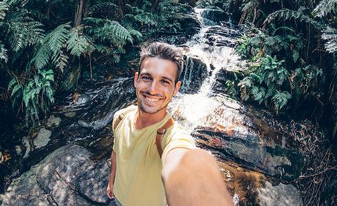 Selfie in the Woods