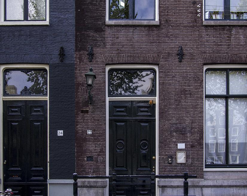 Voorgevel in Amsterdam